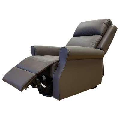 Luxury Brown Leather Willow Recliner
