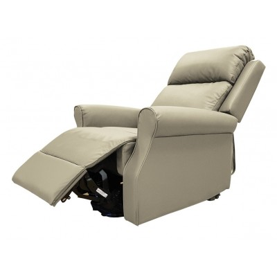 Luxury Grey Leather Willow Recliner